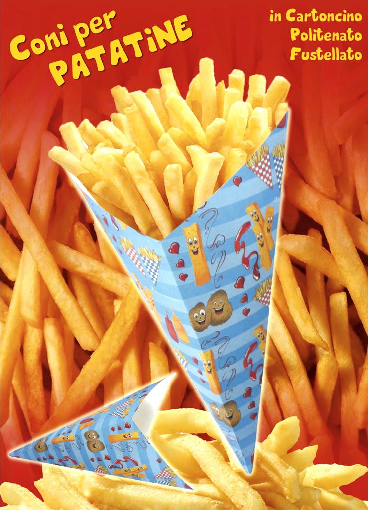 Molto Coni porta patatine QF37